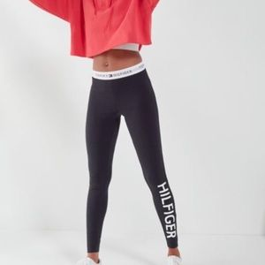 Brand New Tommy Hilfiger Black Leggings